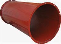 Сварной воздуховод из черновой стали