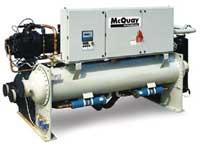 Чиллер с водяным охлаждением конденсатора McQuay PFS
